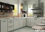 Tủ bếp gỗ MDF Laminate – TBB360