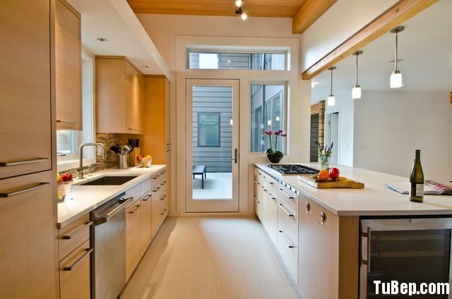 0407 tần bì Tủ bếp gỗ MDF Laminate – TBB271