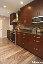 Tủ bếp gỗ tự nhiên Căm Xe – TBB321