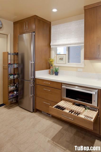 0407 laminate Tủ bếp gỗ MDF Laminate – TBB273