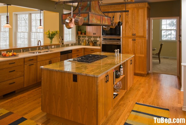 gfdgfg Nội thất Tủ Bếp   Tủ bếp tự nhiên – TBN378