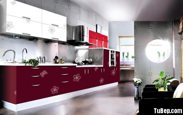 3107 3 Tủ bếp gỗ MDF Laminate – TBB431