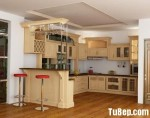 Tủ bếp gỗ Sồi Nga – TBB282