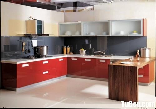 3107 4 Tủ bếp gỗ MDF Laminate – TBB432