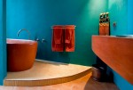 Sáng tạo không gian phòng tắm với mẫu bồn tắm độc đáo
