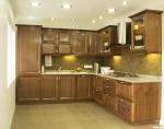 Tủ bếp gỗ Sồi Mỹ sơn PU bóng – TBB629