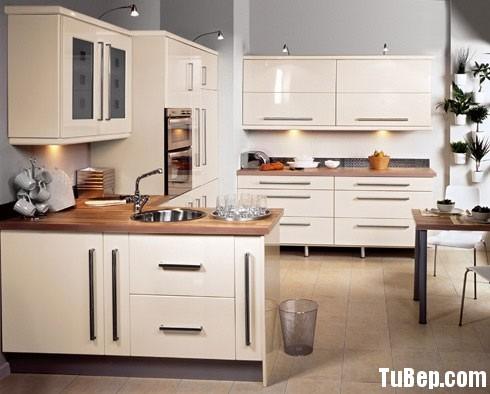acrylic trắng1 Tủ bếp Acrylic màu trắng chữ U TBT0480