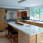 Tủ bếp MDF Laminate   TBB496