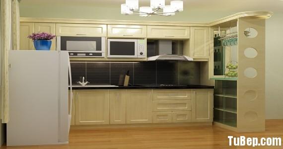 0108 6 Copy Tủ bếp gỗ tự nhiên sơn men trắng + bàn bar – TBB620