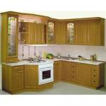 Tủ bếp gỗ Sồi Nga – TBB618