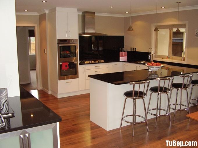 tf Tủ bếp Acrylic trắng chữ U TBT0506