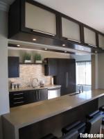 Tủ bếp MDF Laminate + bàn Bar – TBB577