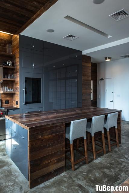 54545 Tủ bếp tự nhiên  công nghiệp – TBN616