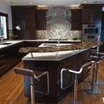 Tủ bếp MDF Laminate + bàn đảo – TBB498