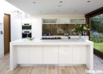 Tủ bếp gỗ MDF Acrylic – TBB540
