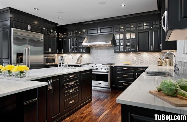 4343443 Tủ bếp tự nhiên  công nghiệp – TBN619