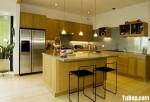 Tủ bếp gỗ Sồi Nga – TBB512