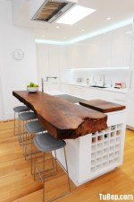 Tủ bếp gỗ MDF Acrylic – TBB607