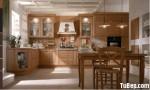 Tủ bếp gỗ Dỗi – TBB0572