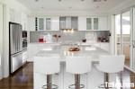 Tủ bếp gỗ MDF Acrylic – TBB545