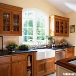 Tủ bếp gỗ Căm –xe –  TBB516
