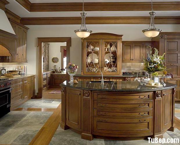 2208 10 Tủ bếp gỗ óc chó – TBB628