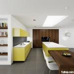 Tủ bếp công nghiệp – TBN676