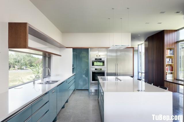 modern kitchen cabinets 8  Tủ bếp Acrylic có đảo TBT0516
