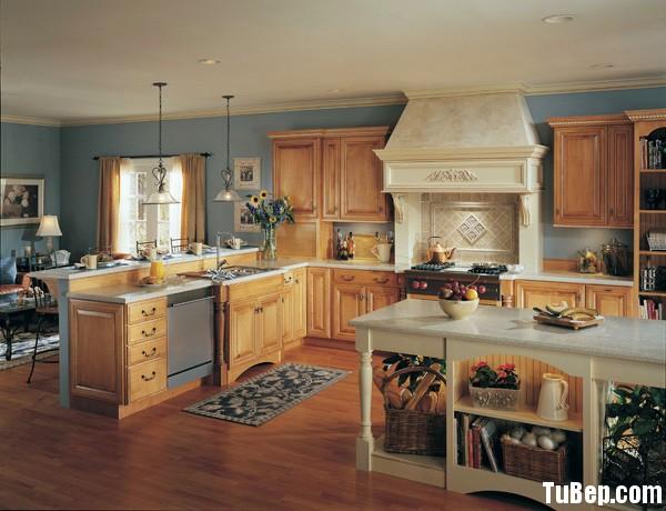 tần bì2 Tủ bếp gỗ Tần Bì (Ash) chữ I có đảo và bar TBT0470