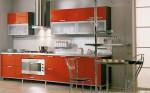 Tủ bếp gỗ Laminate chữ I – TBB730