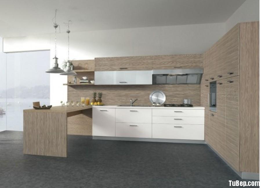 bfef6034dab7e57f223e48f4dcf3e90d XL Tủ bếp Laminate màu vân gỗ chữ L có đảo TBT0665
