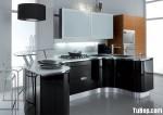 Tủ bếp Laminate kết hợp Acrylic – TBB714