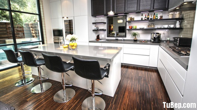 TBB0392 Tủ bếp gỗ MDF Acrylic – TBB653