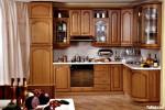 Tủ bếp gỗ Tần Bì – TBB642