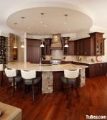 Tủ bếp gỗ xoan đào – TBB641