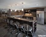 Tủ bếp công nghiệp – TBN814