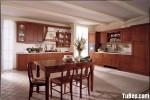 Tủ bếp gỗ Căm Xe chữ L – TBB792