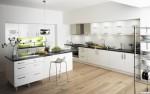 Tủ bếp Laminate có đảo – TBB802