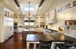 Tủ bếp gỗ Sồi Mỹ sơn men – TBB740