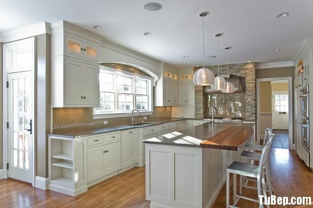 farmhouse kitchen Tủ bếp tự nhiên – TBN686