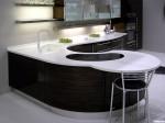 Tủ bếp Acrylic có đảo – TBB711
