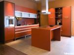 Tủ bếp laminate có đảo – TBB789