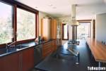 Tủ bếp Laminate màu vân gỗ TBT0914