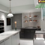 Tủ bếp công nghiệp – TBN991