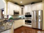 Tủ bếp Xoan Đào sơn men – TBB0827