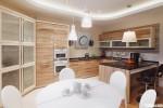 Tủ bếp laminate có đảo – TBB0931