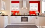 Tủ bếp Acrylic chữ U – TBB0970