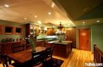Tủ bếp gỗ xoan đào – TBB0904
