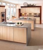 Tủ bếp gỗ Laminate – TBB834