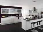 Tủ bếp gỗ Acrylic có đảo – TBB0922